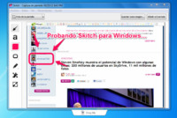 Evernote lanza Skitch para Windows, y también para Windows 8