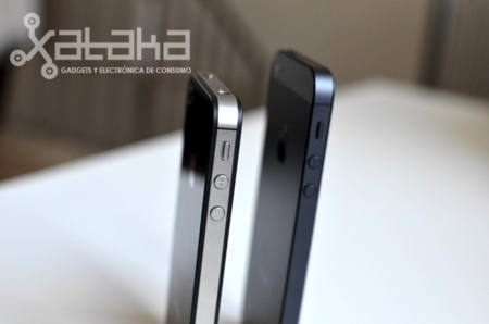Iphone 5 diferencia altura iphone 4S
