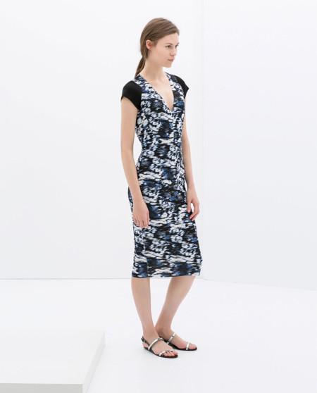 Estampado Vestido de Zara