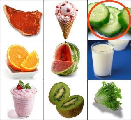 Solución a la adivinanza: el alimento con más agua es el pepino