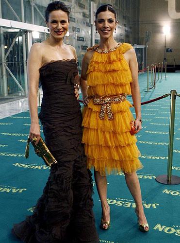 Alfombra verde de los Premios Goya 2009 (II)