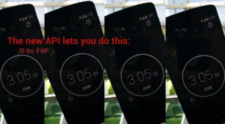 API de cámara en Android L demuestra novedades