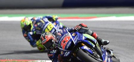 El desastre de Viñales y Rossi en Austria, ¿culpa de Yamaha o de Michelin?