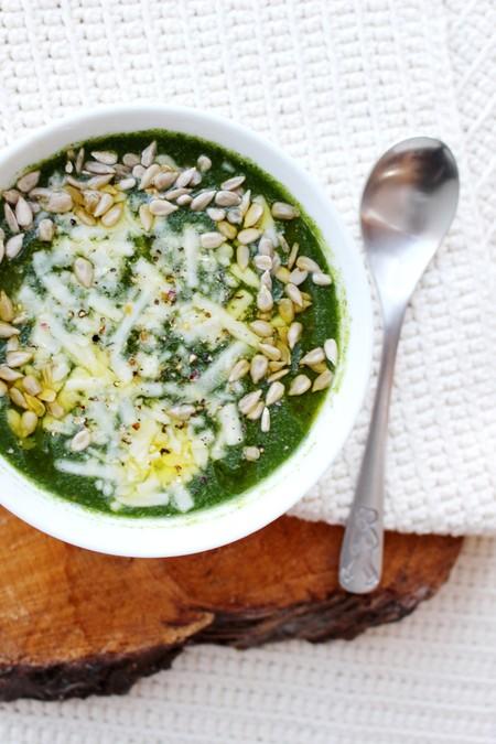 Sopa crema espinacas
