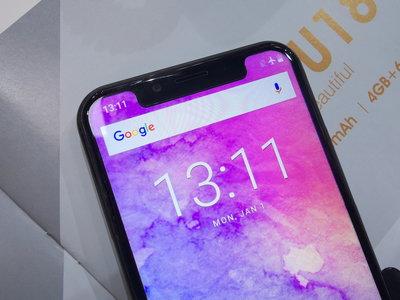 Invasión 'notch' en Android: probamos 11 móviles que imitan el diseño del iPhone X en el MWC 2018