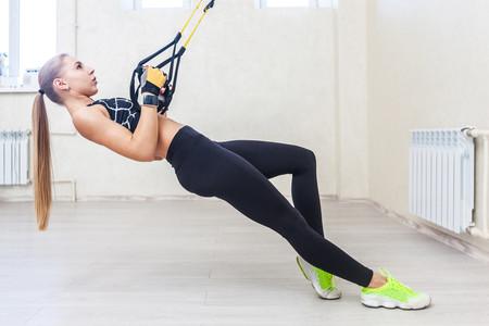 Cinco ejercicios con el TRX que no pueden faltarte si eres runner