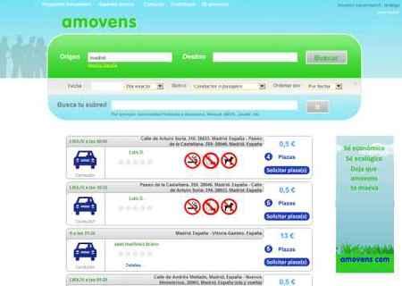 Amovens: comparte el coche, ahorra dinero y contamina menos
