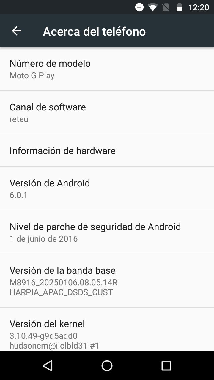 Foto de Software Moto G4 Play (3/7)