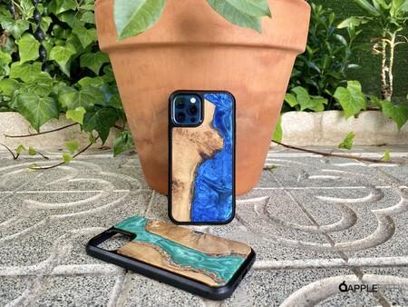 Vica lanza su colección de fundas artesanales para iPhone 12 y iPhone 12 Pro hechas en resina y madera