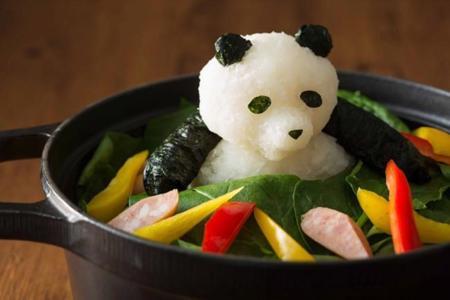 Adorables esculturas comestibles con forma de animal