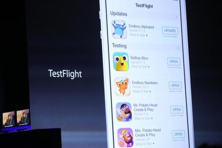 Tesflight iOS 8