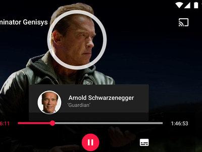 Google Play Movies se viste de negro con su nuevo tema oscuro