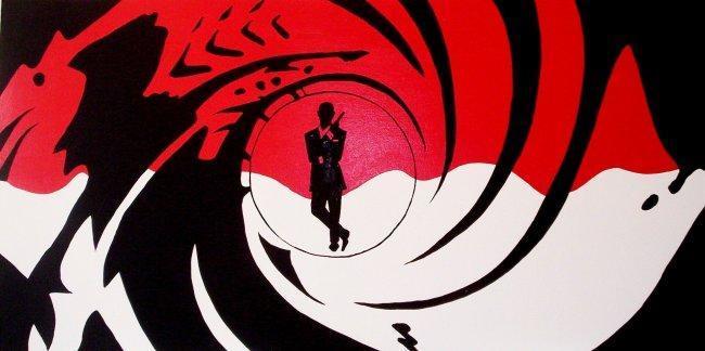 Imagen con el logo de James Bond