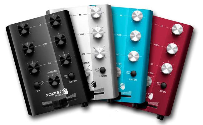consola para DJ Pokket Mixer