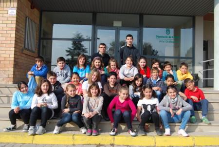 21 De Marc De 2014 Visita Dels Alumnes De Quart De Primaria De L Escola Practiques Ii De Lleida Grup 2