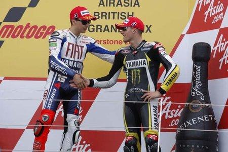 MotoGP Gran Bretaña 2010: Sir Jorge Lorenzo machaca y Ben Spies consigue su primer podio