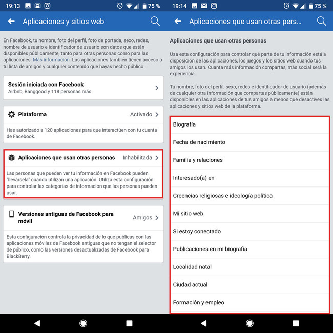 Facebook Privacy apps