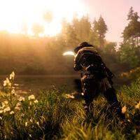 Los bots ya están en New World y se dedican a pescar; los jugadores tratan de matarlos porque molestan