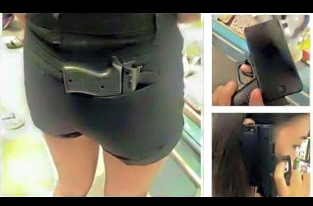 Papaosogomez aconsejan no comprar funda para celular con forma de arma - Donde comprar fundas para moviles ...