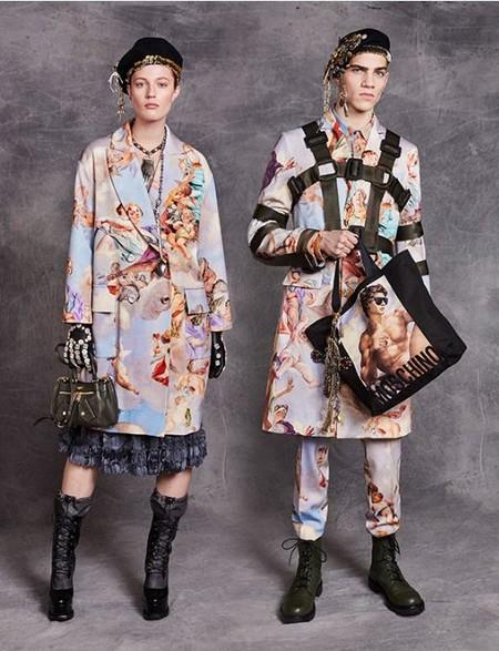 Con La Coleccion Fresco De Moschino Ahora Podras Vestir El Arte Italiano Mas Cool