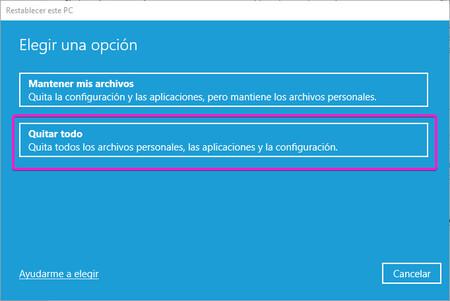 Quitar Todos Los Archivos Windows 10