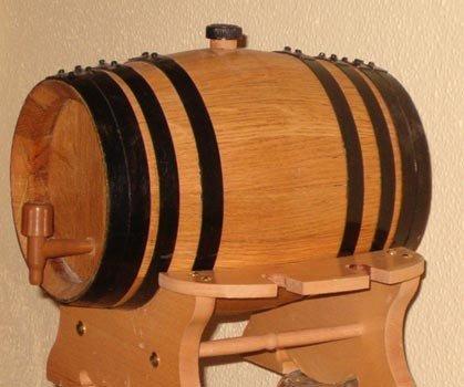 Curar un pequeño barril