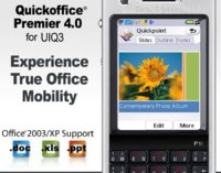 Quickoffice Premier 4.0 para Symbian UIQ 3