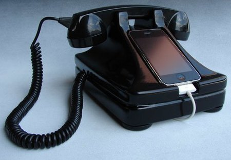 iRetrofone, una base vintage para tu iPhone