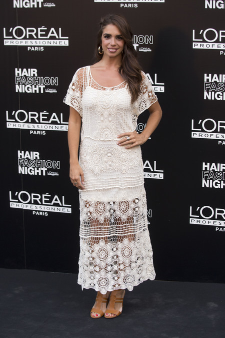 hair fashion night loreal paris madrid celebrities famosas Elena Furiase