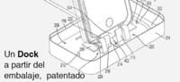 Apple patenta el embalaje que se transforma en dock