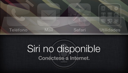 Siri no disponible