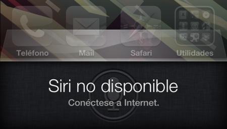 Siri no disponible