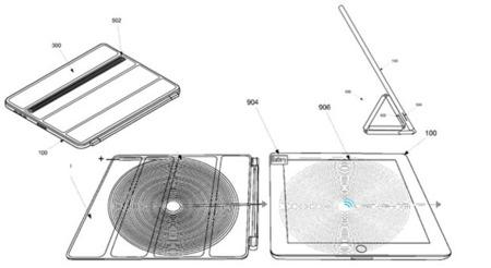 El maravilloso mundo de las patentes, o dicese de los posibles usos de la carga sin cables para el iPad