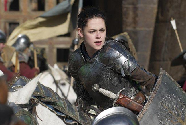 Kristen Stewart preparada para la batalla