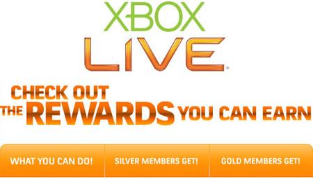 Microsoft presenta de forma oficial las recompensas de Xbox Live