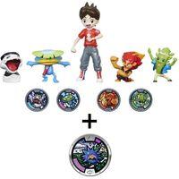 Pack de 5 figuras Nate y los Yo-Kai + Medalla exclusiva de Erizlor por 19,99 euros en Amazon
