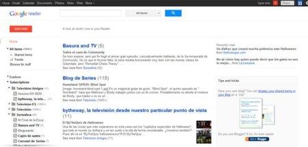 Google Reader estrena rediseño y se integra con Google+