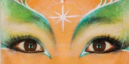 Kimera, por su maquillaje la recordarás