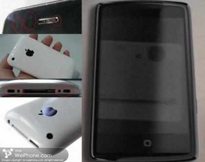 iphone en blanco