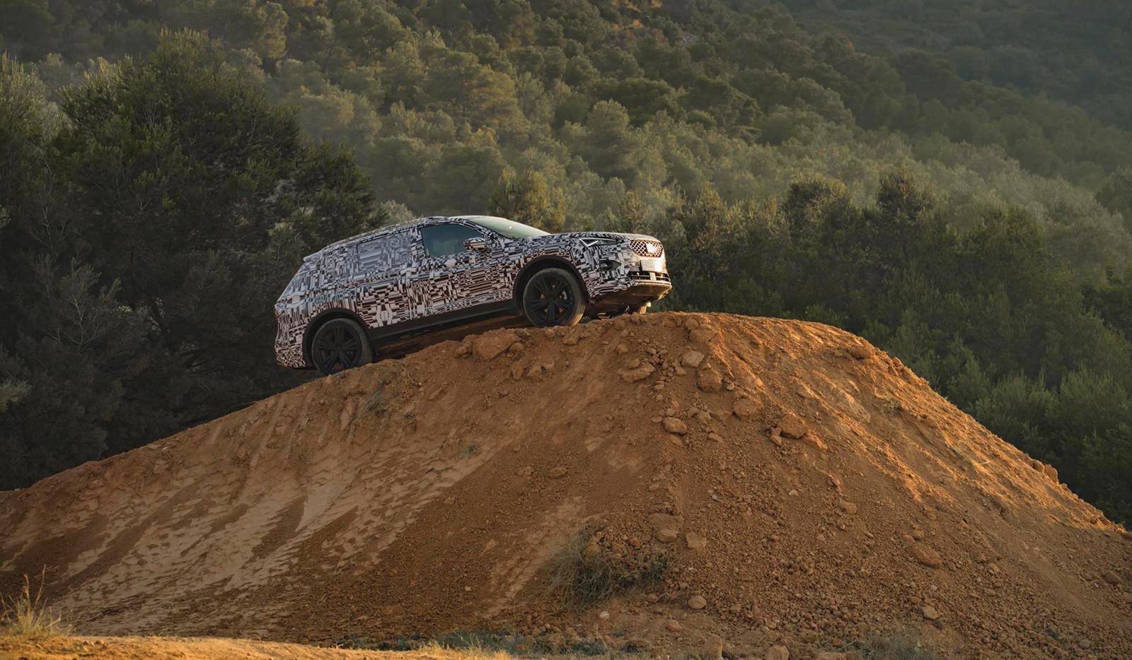 Foto de SEAT Tarraco, en vídeo (2/7)