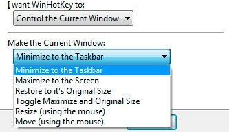 WinHotKey opciones para manejar ventanas