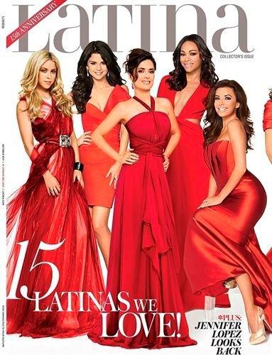 Cómo colocar quince celebrities latinas de la peor forma posible: la revista Latina lo sabe