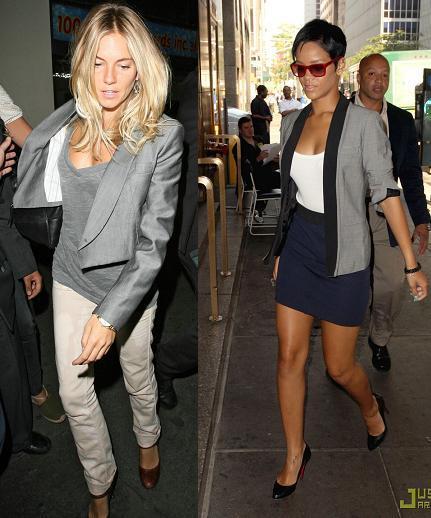 Lo que se lleva: el blazer gris