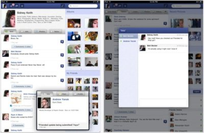Friended, usa de forma cómoda Facebook desde el iPad