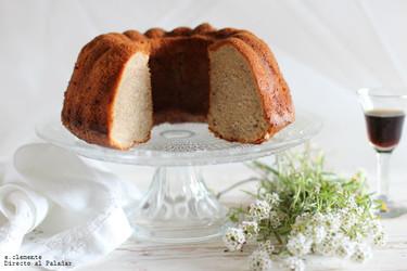 Cake de plátano y nata. Receta