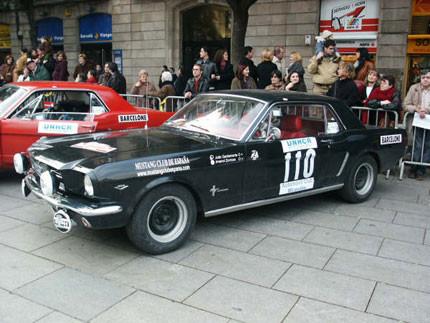 El primer Ford Mustang matriculado en España