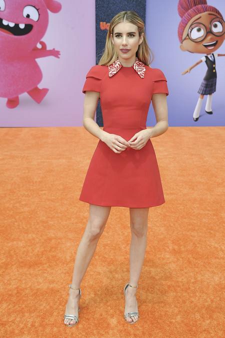 Emma Robert Nos Ha Enseñado Uno De Los Vestido Rojos Cortos