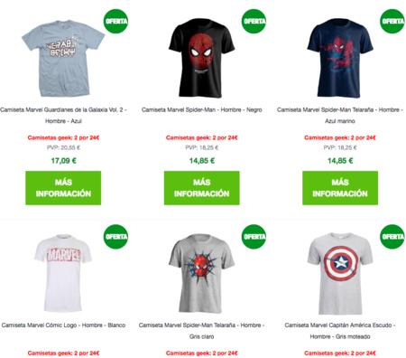 Marvel Camisetas