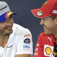 Crecen los rumores que sitúan a Carlos Sainz en Ferrari como sustituto de Sebastian Vettel, que iría a McLaren