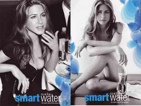 Jennifer Aniston nos incita a beber agua